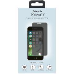 Selencia Protection d'écran en verre Privacy iPhone 8 / 7 / 6s / 6