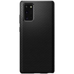 Spigen Coque Liquid Air Samsung Galaxy Note 20 - Noir