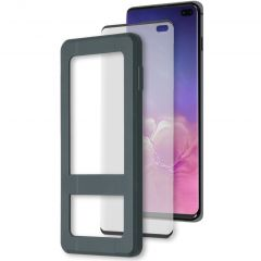 Accezz Protection d'écran Glass + Applicateur Galaxy S10 Plus