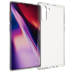 Accezz Coque Clear Samsung Galaxy Note 10 - Transparent