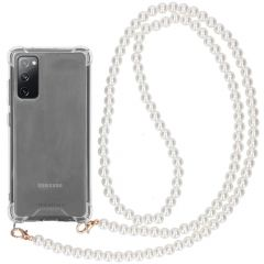 iMoshion Coque avec dragonne Samsung Galaxy S20 FE - Transparant
