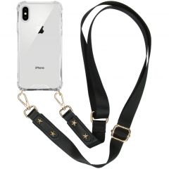 iMoshion Coque avec dragonne iPhone Xs / X - Transparant