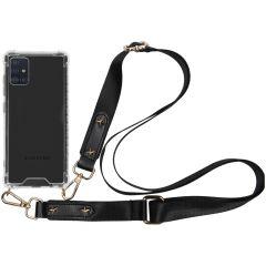 iMoshion Coque avec dragonne Samsung Galaxy A51 - Transparant