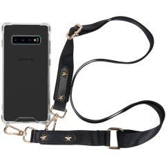 iMoshion Coque avec dragonne Samsung Galaxy S10 Plus - Transparant