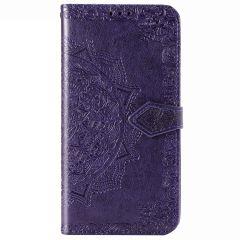 Etui de téléphone portefeuille Mandala Oppo A52/A72/A92
