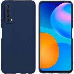 iMoshion Coque Color Huawei P Smart (2021) - Bleu foncé