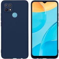 iMoshion Coque Color Oppo A15 - Bleu foncé