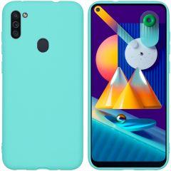iMoshion Coque Color Samsung Galaxy M11 / A11 - Menthe verte