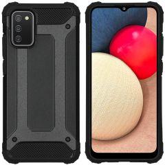 iMoshion Coque Rugged Xtreme Samsung Galaxy A02s  - Noir
