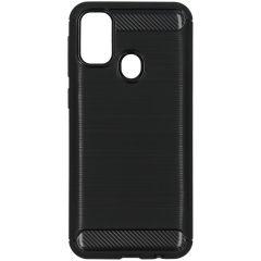 Coque brossée Samsung Galaxy M30s / M21 - Noir