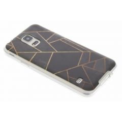 Coque design Samsung Galaxy S5 (Plus) / Neo - Black Graphic