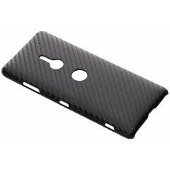 Coque rigide en carbone Sony Xperia XZ3