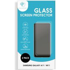iMoshion Protection d'écran en verre durci 2 pack Galaxy A11 / M11