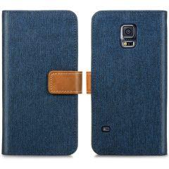 iMoshion Étui de téléphone Canvas Luxe Galaxy S5 (Plus) / Neo