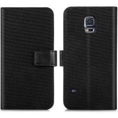 iMoshion Étui de téléphone Canvas Luxe Galaxy S5 (Plus) / Neo - Noir