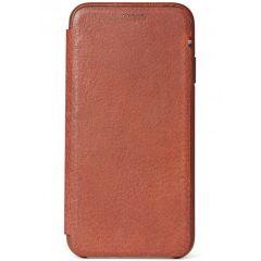 Decoded Étui slim en cuir iPhone Xs Max - Brun