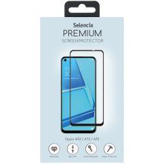 Selencia Protection d'écran en verre durci Oppo A52/A72/ A73 (5G)/A92