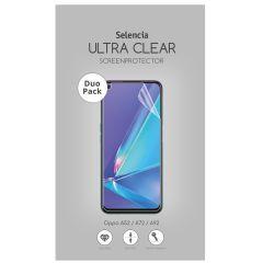 Selencia Protection d'écran Duo Pack Oppo A52 / A72 / A73 (5G) / A92