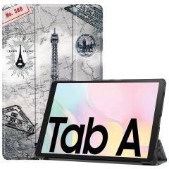 iMoshion Étui à rabat Design Trifold Samsung Galaxy Tab A7 - Paris