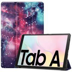 iMoshion Étui à rabat Design Trifold Samsung Galaxy Tab A7 - Space