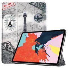 iMoshion Étui à rabat Design Trifold iPad Air (2020) - Paris