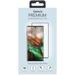 Selencia Protection d'écran premium en verre Galaxy Note 10 Plus