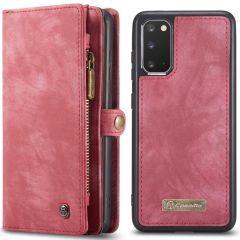 CaseMe Etui de téléphone de luxe en cuir 2 en 1 Samsung Galaxy S20
