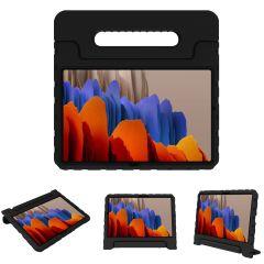 iMoshion Coque kidsproof avec poignée Galaxy Tab S7 Plus / Tab S7 FE 5G - Noir