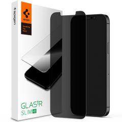 Spigen Protection d'écran GLAStR Privacy iPhone 12 (Pro)