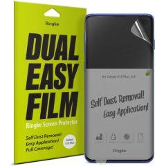 Ringke Duo Pack de protection d'écran Easy Samsung Galaxy S10 Plus