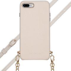 Selencia Coque Serpent avec corde iPhone 8 Plus / 7 Plus - Blanc