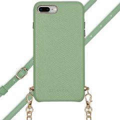 Selencia Coque Serpent avec corde iPhone 8 Plus / 7 Plus - Vert