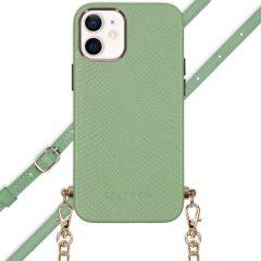 Selencia Coque Aina Serpent avec corde iPhone 12 Mini - Vert