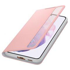 Samsung Étui de téléphone portefeuille Clear View Galaxy S21 Plus