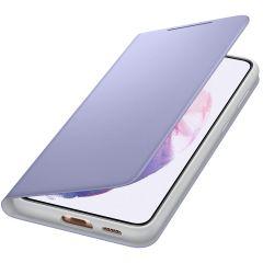 Samsung Étui de téléphone LED View Galaxy S21 Plus - Violet