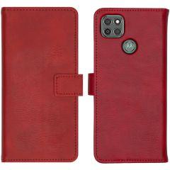iMoshion Étui de téléphone portefeuille Luxe Motorola Moto G9 Power