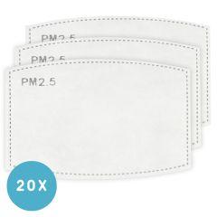 iMoshion Pack de 20 filtres remplaçables pour masque