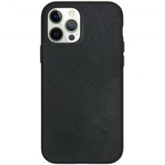 RhinoShield Coque SolidSuit iPhone 12 (Pro) - Leather Black