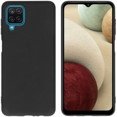iMoshion Coque Color Samsung Galaxy A12 - Noir