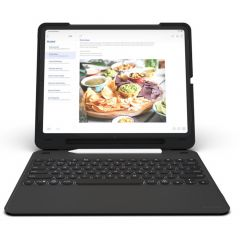 ZAGG Housse clavier Rugged Messenger iPad Pro 11 (2018) - Noir