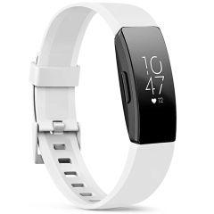 iMoshion Bracelet silicone Fitbit Inspire - Blanc