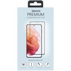 Selencia Protection d'écran premium en verre Samsung Galaxy S21