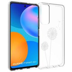 iMoshion Coque Design Huawei P Smart (2021) - Pissenlit - Blanc