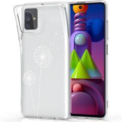 iMoshion Coque Design Samsung Galaxy M51 - Pissenlit - Blanc