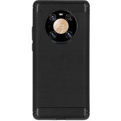 Coque brossée Huawei Mate 40 Pro - Noir