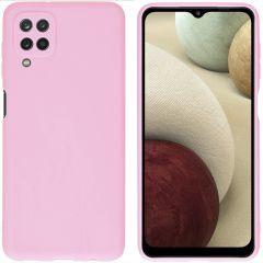 iMoshion Coque Color Samsung Galaxy A12 - Rose