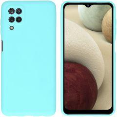 iMoshion Coque Color Samsung Galaxy A12 - Menthe verte