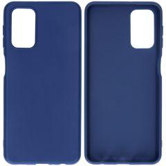 iMoshion Coque Color Samsung Galaxy A32 (5G) - Bleu foncé