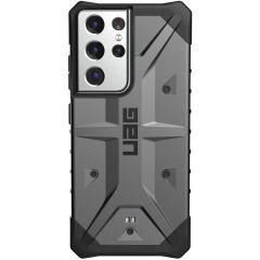 UAG Coque Pathfinder Samsung Galaxy S21 Ultra - Argent