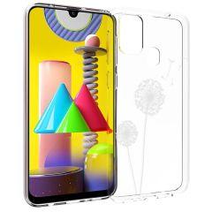 iMoshion Coque Design Samsung Galaxy M31 - Pissenlit - Blanc